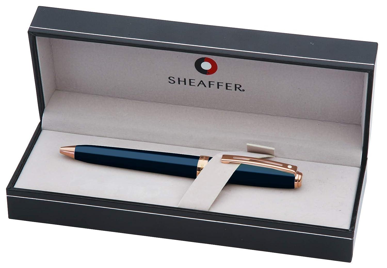 color azul cobalto y oro rosa Sheaffer E2914351 Prelude Bol/ígrafo