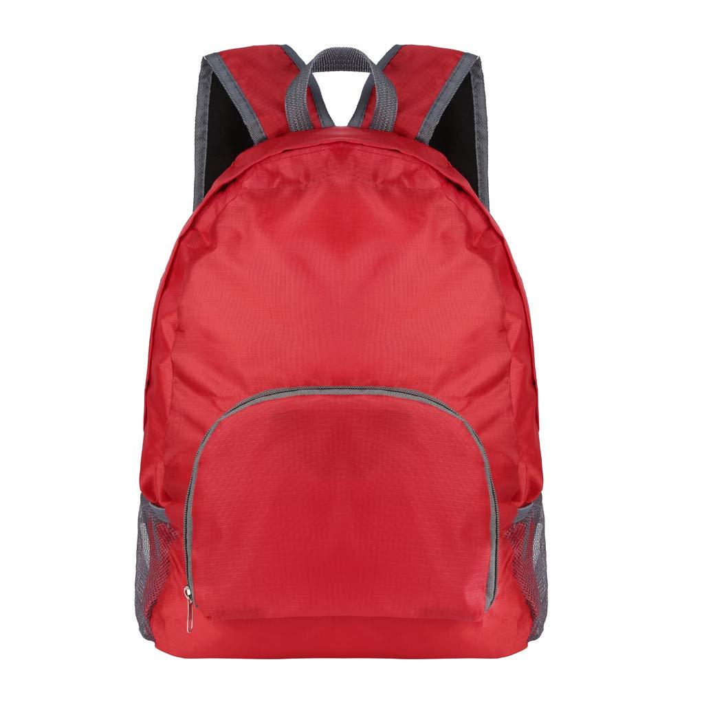 Nylon Waterproof Backpack Bag Satchels Top Handle Rucksack Lightweight Durable Casual Fashion School Bag Purse for Womens Girls