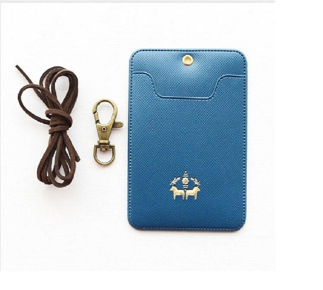 Personalausweishüllen , Transport Kartenkasten , Visitenkartenetuis , ID Badge (Blau) Personalausweishüllen