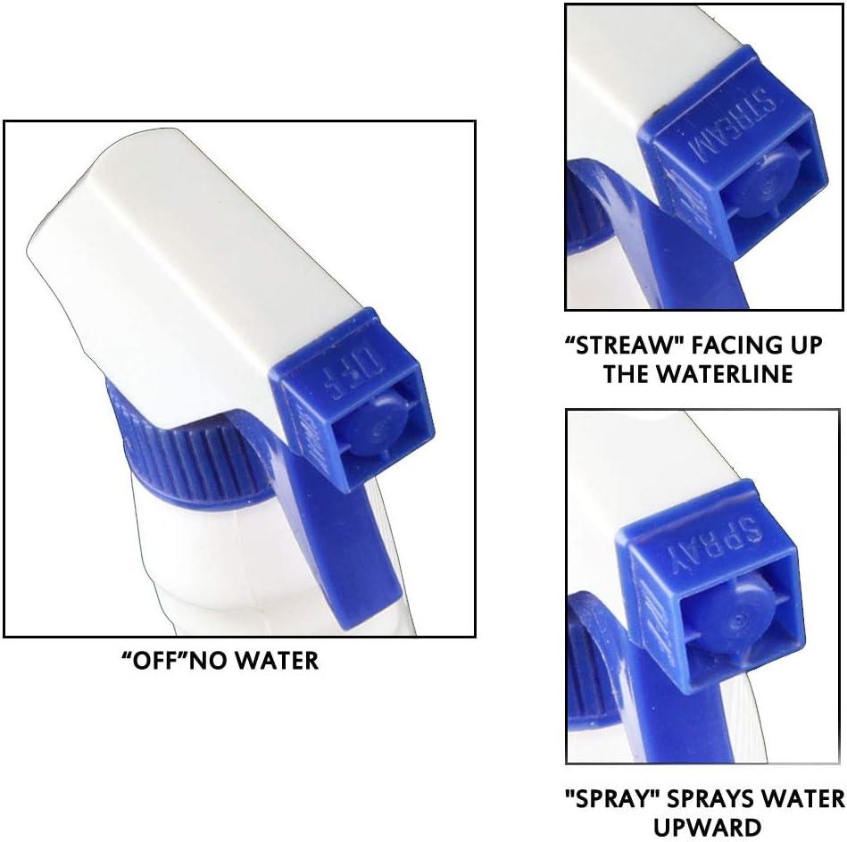 MEEQIAO Flacone Spray Vuoto 500 ml Flacone spray da 2 pezzi di Grandi Dimensioni Impermeabile Ricaricabile per la Pulizia del Giardinaggio della Cucina del Bagno