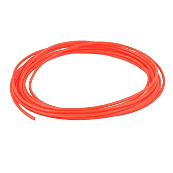 4mm OD x 2.5mm ID PU Pneumatic Air Tubing Pipe Hose 6M 20ft Red  sc 1 st  Amazon.com : 4mm air hose - www.happyfamilyinstitute.com