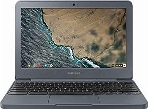 """Samsung 11.6"""" HD Premium Chromebook - Intel Celeron N3060 Up to 2.48GHz, 2GB DDR3, 16GB eMMC Hard Drive, 802.11ac, Bluetooth, HDMI, HD Webcam, USB 3.0, Chrome OS (Night Charcoal)"""