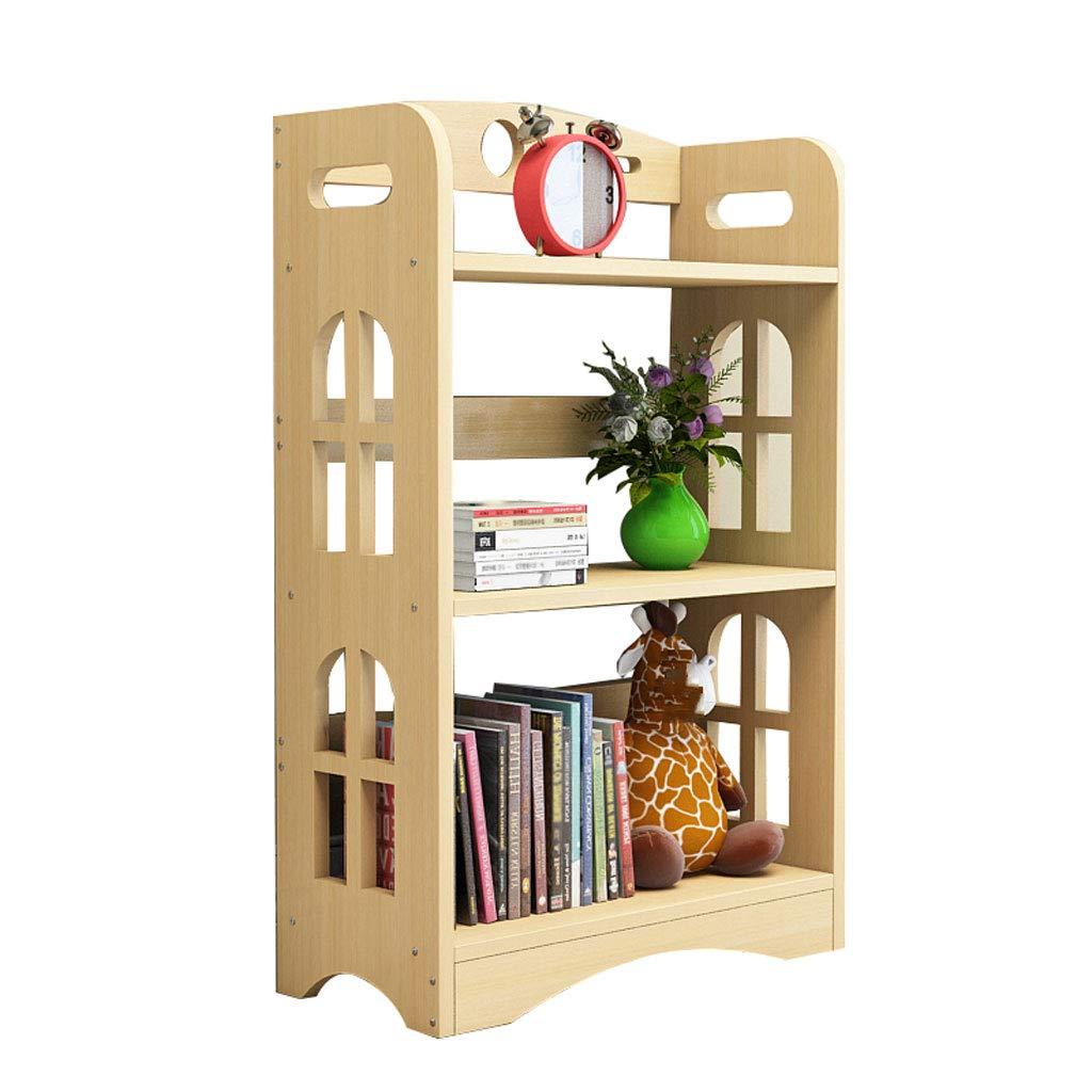 オープンシェルフラック シンプルな本棚ソリッドウッドシェルフ着陸多層小書棚現代の創造的なストレージの組み合わせ (Size : 3rd floor) B07SQDKM6Y  3rd floor