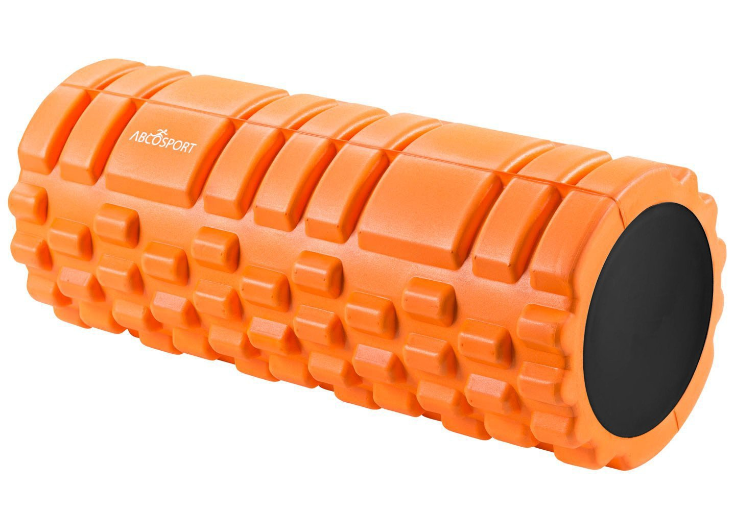 Foam Roller for Physical Therapy, Myofascial Release & Exercise for Muscles with Soft Deep-Tissue Massage - Best for Stretching, Tension Release, Cramp Relief, Pilates & Yoga - 13'' x 5'', ORANGE