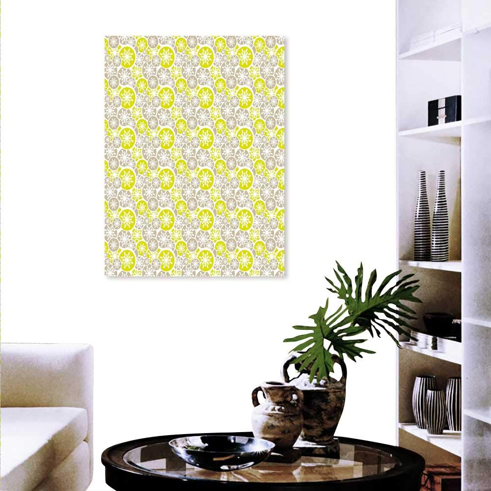 Japanese Inspired Abstract Wall Art