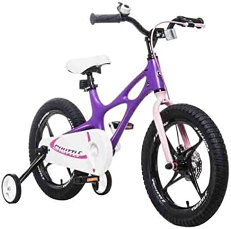 De Alto Grado Profesional de aleación de magnesio de niños para Bicicleta Niño en 14/16/18 Pulgadas Calidad Seguridad para Bicicletas Niño Niña: Amazon.es: Deportes y aire libre