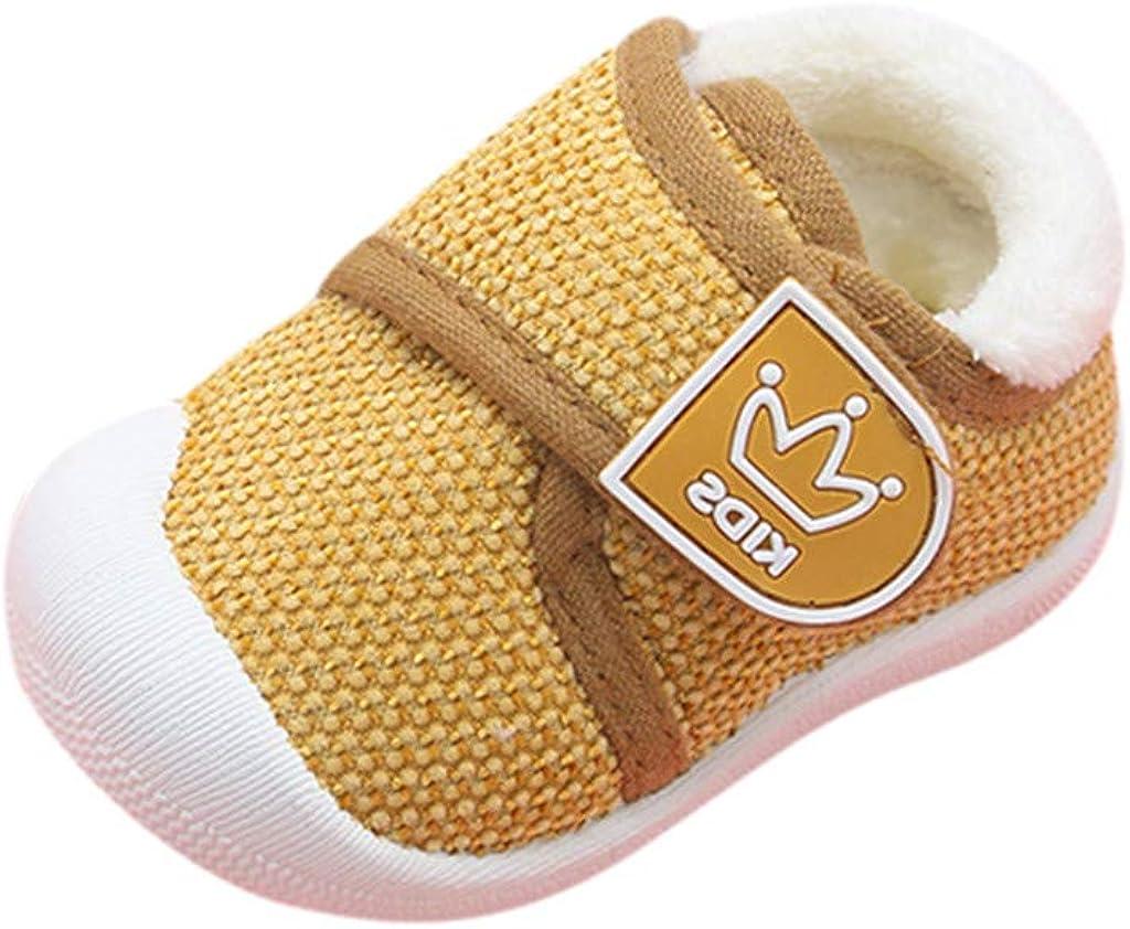 DAY8 Chaussures Garcon Hiver Chaude Fourree Basket Garcon