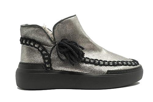 LAGOA Scarpe da Donna Sneakers Polacchino Stivali Stivaletti Divina Casual  Sportive Argento  MainApps  Amazon.it  Scarpe e borse 6c2e5705c49