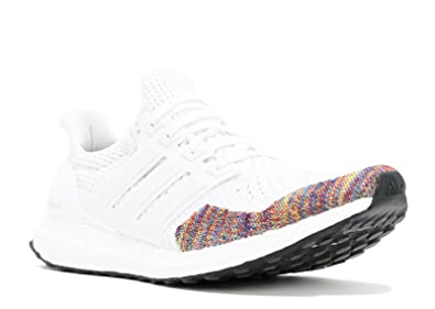 3ec4daa21b1d6 Amazon.com | adidas Ultra Boost Ltd - Size 8 White/Multi | Basketball