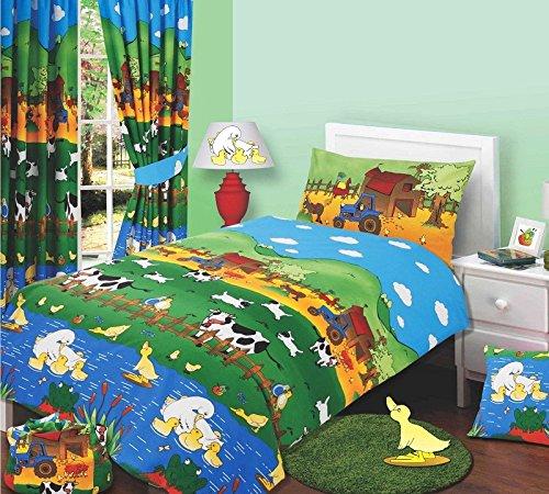 Junior Bed Size Farmyard Friends Duvet