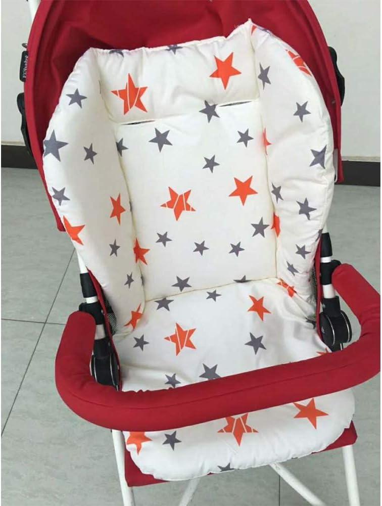 Star kakakooo 1pc Poussette b/éb/é Respirant Seat Pad Voiture Seat Liner Chaise Haute Coussin Doublure Tapis Coton Coussin de Couverture Protecteur pour b/éb/é b/éb/é