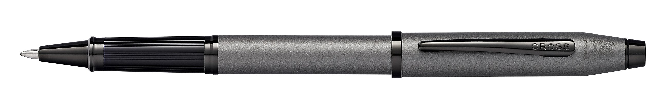 Cross Century II Gunmetal Gray Rollerball Pen with Polished Black PVD Appointments by Cross (Image #4)