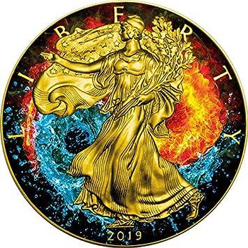 Power Coin Greyjoy Game of Thrones GOT Walking Liberty 1 Oz Silber M/ünze 1$ USA 2019