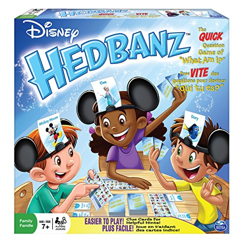 [Spin Master Games, Disney HedBanz 2nd Edition Board Game] (Disney Kids Game)