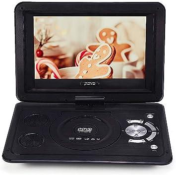 Bewinner Reproductor de DVD Portátil,13.9 Pulgadas HD 800 * 480 ...
