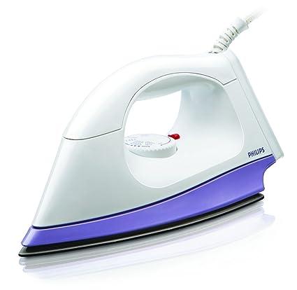 Philips HI108 1000-Watt Dry Iron (White and Lavender)