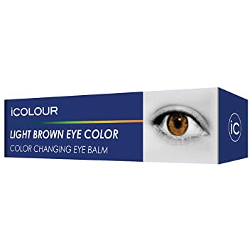 6c9a4fd9859 iCOLOUR Color Changing Eye Balm - Change Your Eye Color Naturally - 1 Month  Supply -