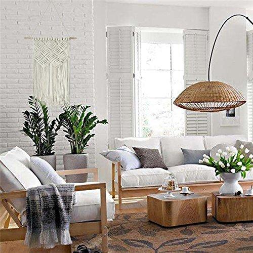 Sundlight Macrame Wall Hanging Woven Handmade Tapestry Decor Wall Decor for Living Room Bedroom 42cmx58cm