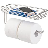 mDesign – Práctico portarrollos para baño con Bandeja