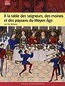 A la table des seigneurs, des moines et des paysans du Moyen Age par Birlouez