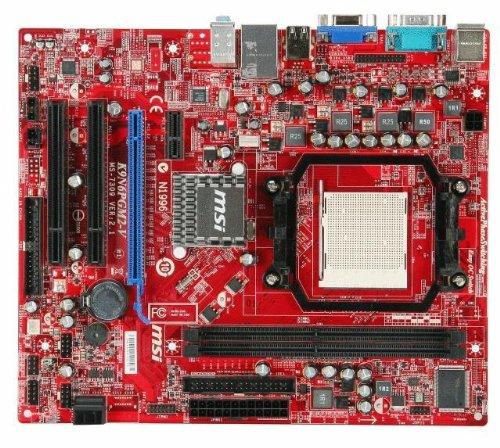 MSI Socket AM2+/ GeForce 6150SE/ DDR2/ A&V&L/ MATX Motherboard K9N6PGM2-V2