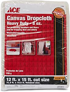 ACE Heavy Weight Drop Cloth (274 x 457 cm, Canvas)