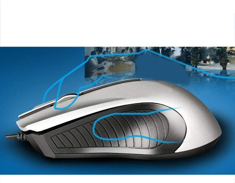 Honmofun Wireless Mouse for Mac for Windows Wireless Gaming Mouse Wireless Mouse for Laptop 1600 DPI 6 Buttons Ergonomic Design for 2.4G Desktop Computer Accessories Mouse Gamer Mice Computer Mice