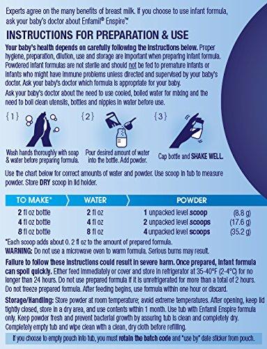 Enfamil Enspire Powdered Baby Formula Tub, 20.5 Ounce