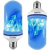 Sisaki Fiamma della Lampadina LED Luce simulata della Fiamma Blu Lampadine a LED