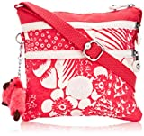 Kipling Womens Alvar S Crossbody Bag Tropic Pink C