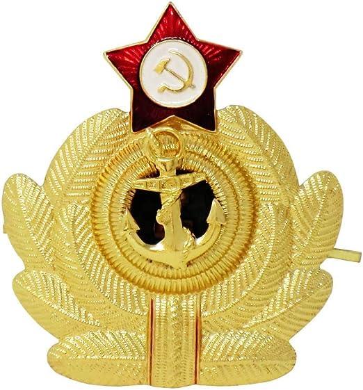 Authentique Broche Urss Militaire Russe Pour Chapeau Vestes Uniformes Mod: marine russe
