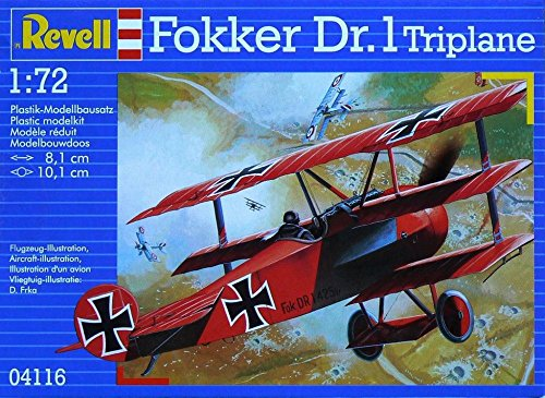 Baron Red Triplane (Revell Of Germany Fokker Dr.1 PL Triplan)