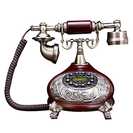 Amazon Com Llp Lm Home Telephone Landline Retro Caller Id Handsfree