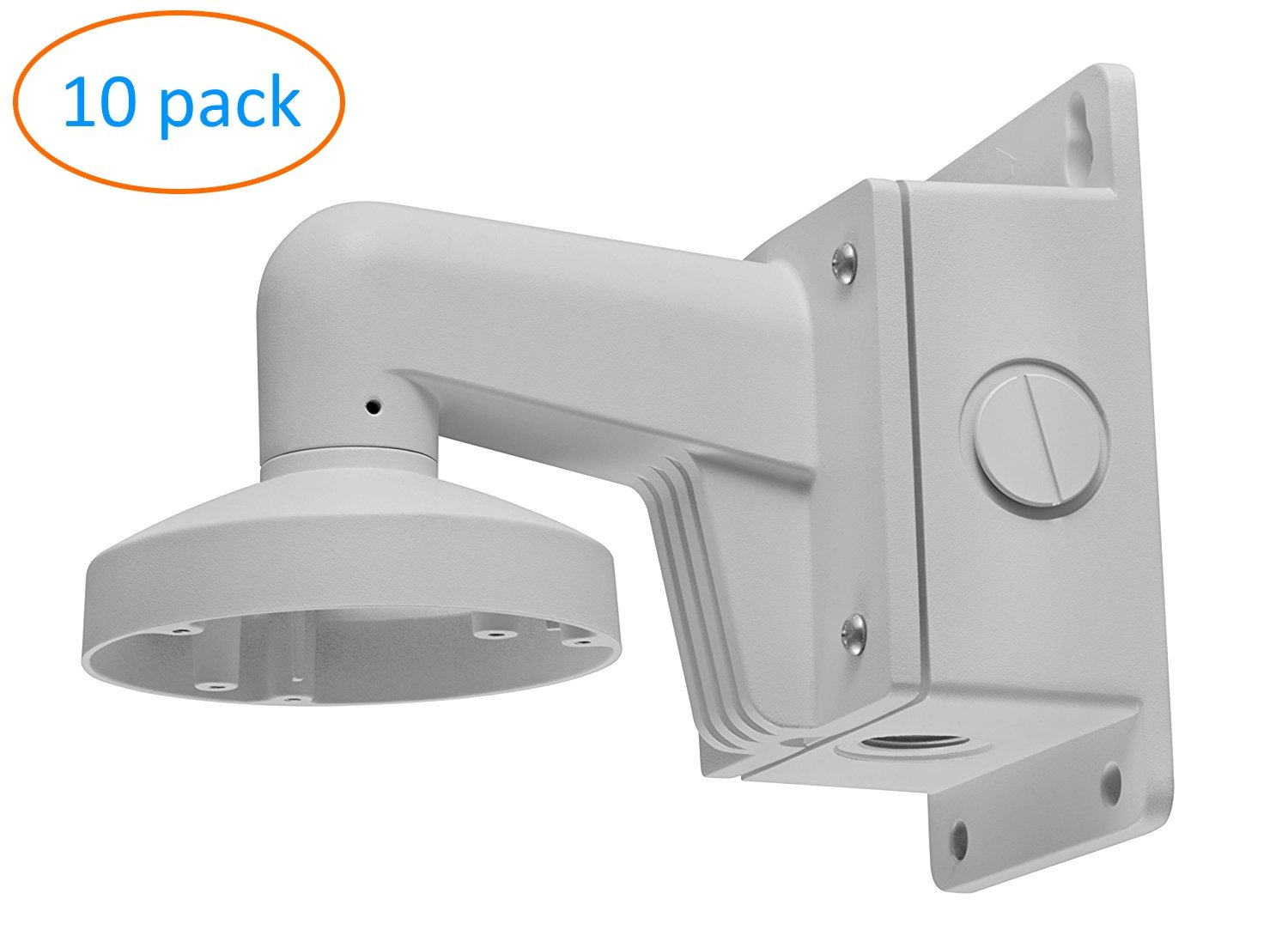WMS WML PC110B DS-1272ZJ-110B Wall Mount Bracket for Hikvision Fixed Lens Dome IP Camera DS-2CD21x2 - 10 Pack