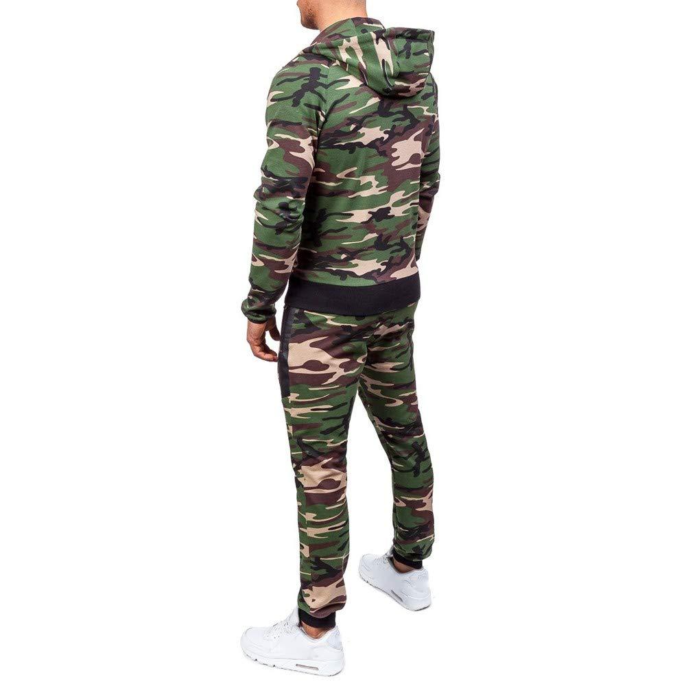 Größe 40 Kauf echt geeignet für Männer/Frauen Manadlian Game Herren Jogginganzug Camouflage Anzug Set Army ...