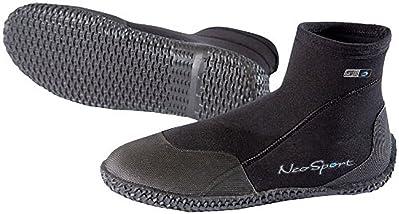 NeoSport Wetsuits Premium Neoprene 3mm Low Top Pull-On Boot