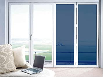 window sun blocker foldable adhesivefree static cling no glue privacy and solar control window glass film sun amazoncom
