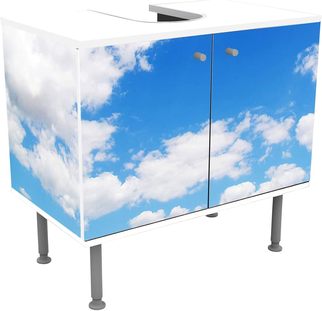 wandmotiv24 Mueble de baño Cielo ? Naturaleza Pegado Frontal y Lateral Lavabo, Mueble Lavabo M0271: Amazon.es: Hogar