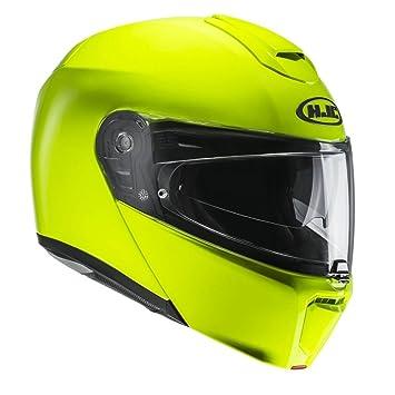 HJC Helmets Casco Moto Hjc Rpha 90 Plain Fluorescent (L, Amarillo)