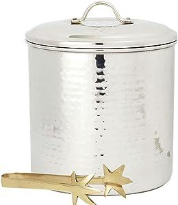 Old Dutch International Ice Bucket, 3-Quart, Stainless Steel
