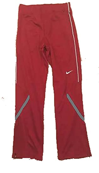 8562f8e51fb0 Amazon.com  Nike Womens Enforcer Warm-Up Pant Team Dark Maroon Grey White  Size Medium  Clothing