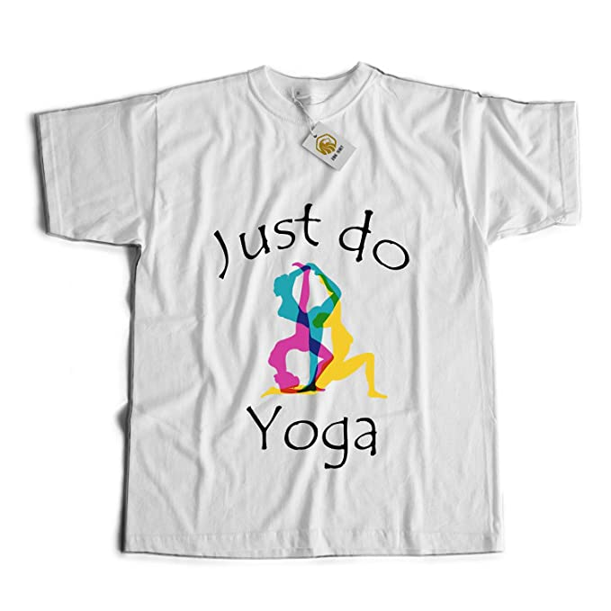 Just Do Yoga T Shirt Yoga Tshirt Camiseta Unisex Blanco S ...