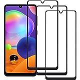 QWYJ for Galaxy A31 y Samsung A31 Screen Protector (3 Unidades) Cristal Templado Galaxy A31 y Samsung A31 Protector de…