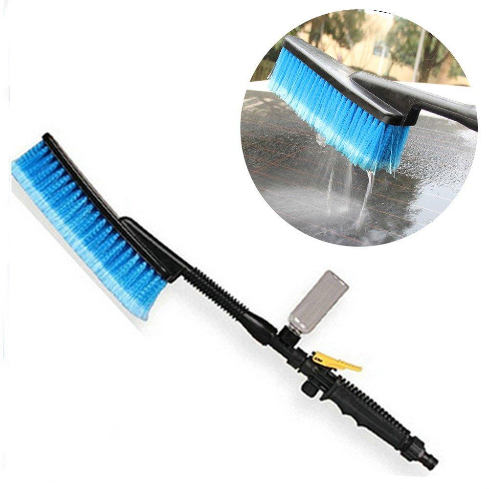 UMFun Car Wash Brush Hose Adapter Vehicle Truck Cleaning Water Spray Nozzle Car Care Bush
