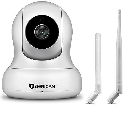 Cámara de Seguridad Inalámbrica Doméstica 1080P, Control Pan / Tilt, Zoom Digital 4x,