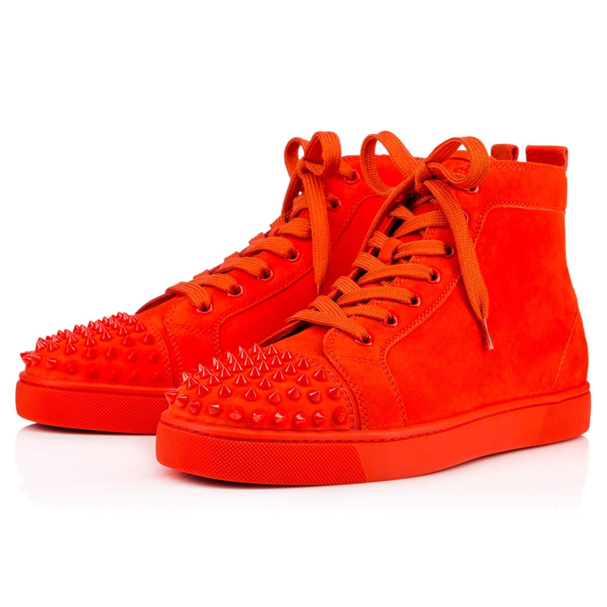 new arrival 3b1f0 dd4c6 Amazon.com | Christian Louboutin Authentic Lou Spikes Suede ...