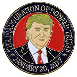 Donald Trump 2017 Presidential Inauguration Portrait Lapel Pin/Hat Tac