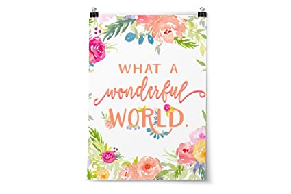 Amazon Floral Print Wall Decor Positive Quotes For Kids Or Interesting Positive Quotes For Kids