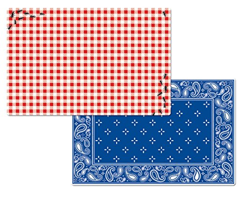 Counterart Wipe clean Reversible Placemats Picnic