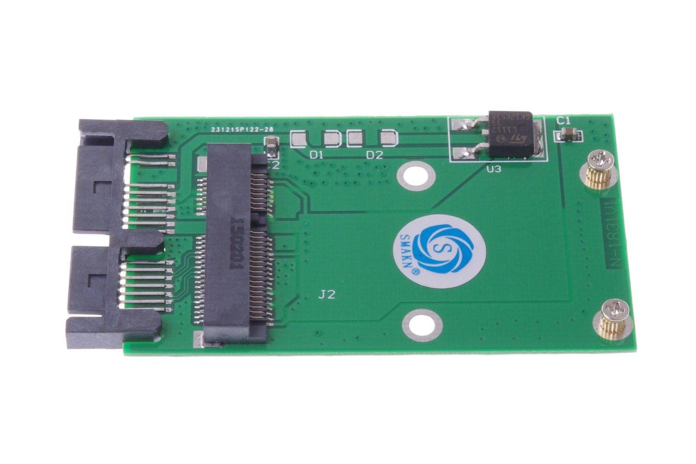Smakn Ssd Msata Mini Pci-e De 50 Mm De Altura Completa A Micro Sata Msata De 1.8 Pulgadas